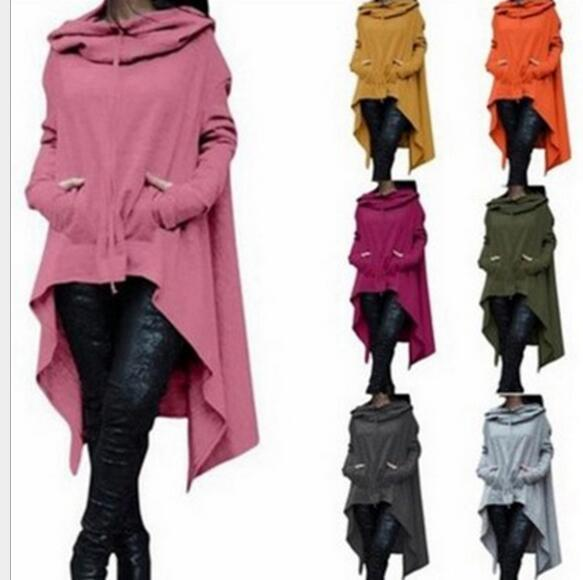 2018 European and American solid color long hooded Sweatshirts 10 colors 8wwetoro-wwetoro