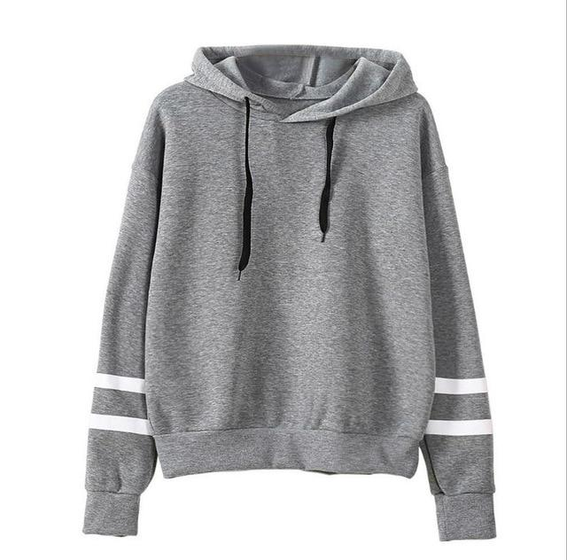 2018 Autumn Women Hoodie Casual Long Sleeve Hooded Pullover Sweatshirts Hoodedwwetoro-wwetoro