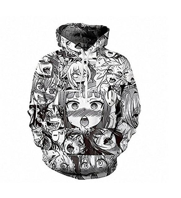 Sweatshirt Women 3d Print Girls Hoodies Hooded Sweethearts Long Sleeve Pullovers Fashionwwetoro-wwetoro