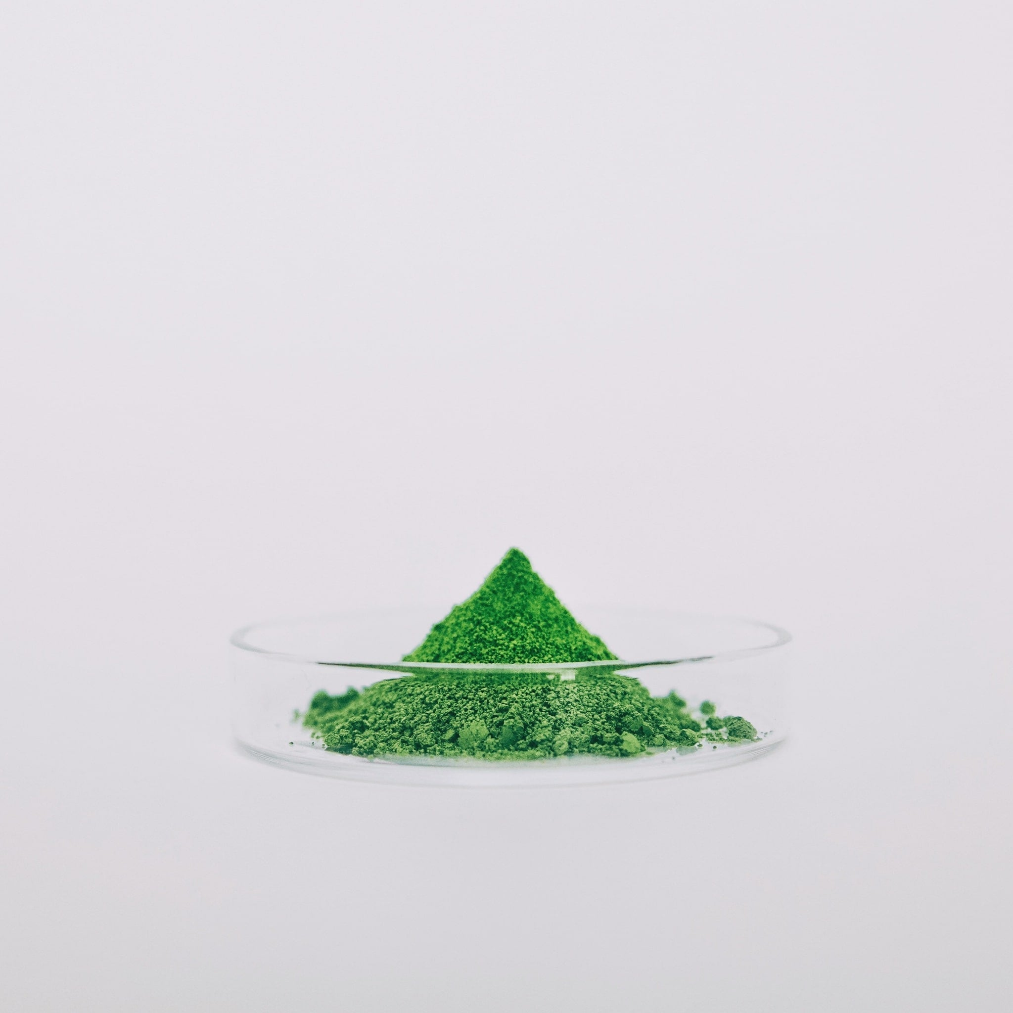 Sunday Ceremonial Matcha powder color