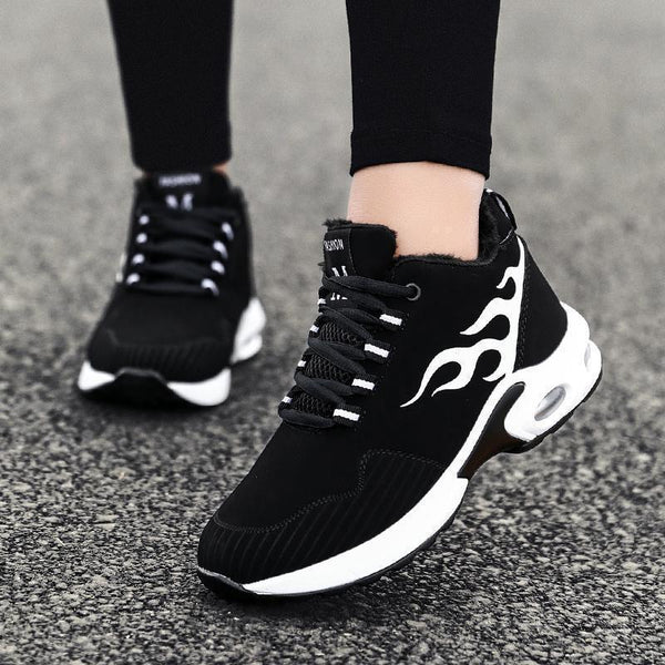 Women's Winter Air Cushion Warm Cotton Sneakers