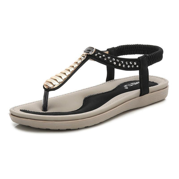 Women's Shoes 2019 Summer New Flat Bohemia Sandals