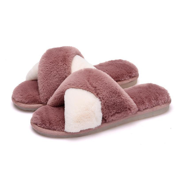 Women Cotton Warm Slippers