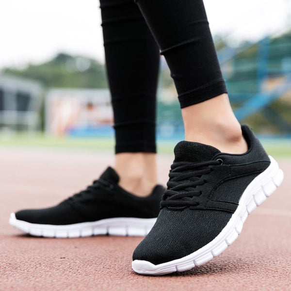 Women's Breathable Mesh Shoes Outdoor Running Shoes