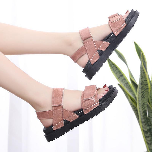 Women's Suede Comfortable Non-Slip Wear-Resistant Sandals