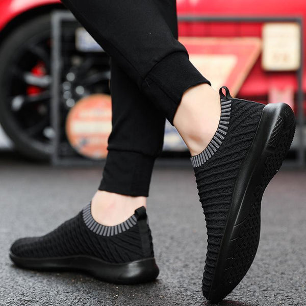 Women's Flying Weaving Elastic Sock Sneakers