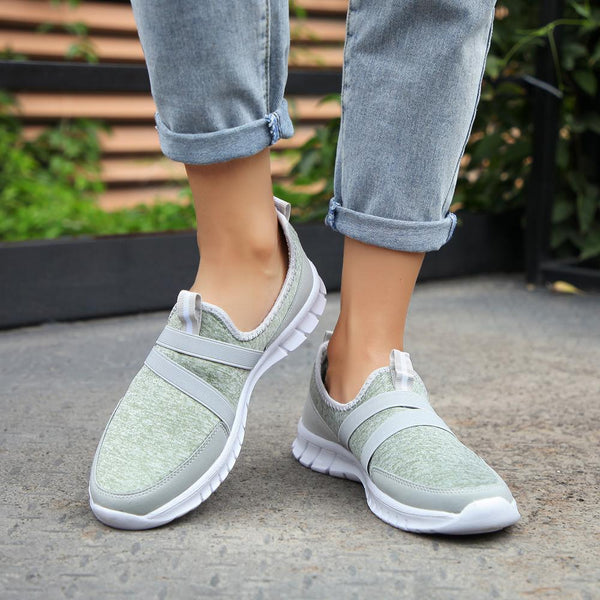 Men Loafers Walking Shoes Lightweight Mesh Slip On Sneakers Casual Sports Soft Shoe