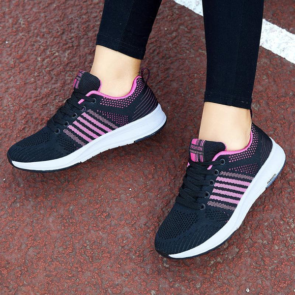 Women's New Casual Sports Flying Woven Shoes
