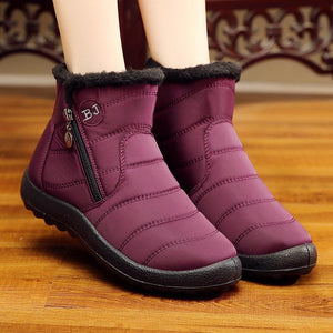 Women Snow Casual Comfort Plus Size Boots