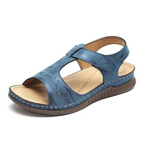Women's Shoes Beach Sandals With Open Toe Comic Snap Hook Loop