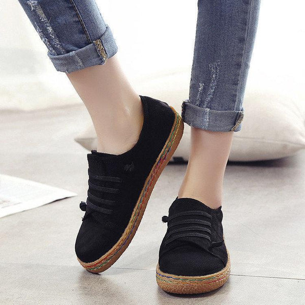 Women's Casual Shoes Slip On Flexible Flats Loafers