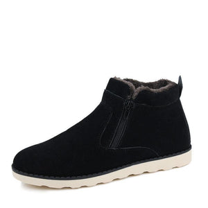 Women's Fur Lined Wild Casual Boots