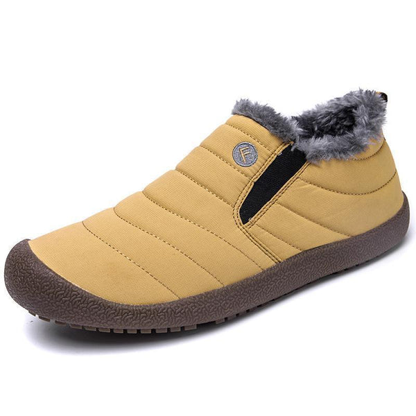 Women's Water-resistant Casual Cotton Snow Boots