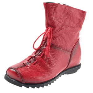 Women's Genuine Cowhide Soft Sole Comfortable Boots