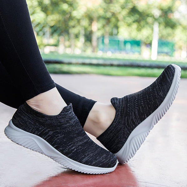 Women's New Breathable Flying Woven Knit Sneakers