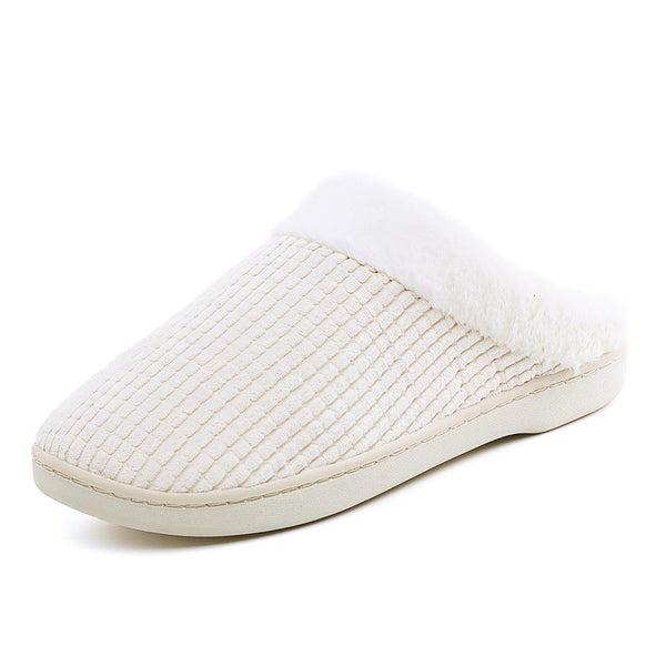 Women Casual Convenience Plus Cotton Slippers