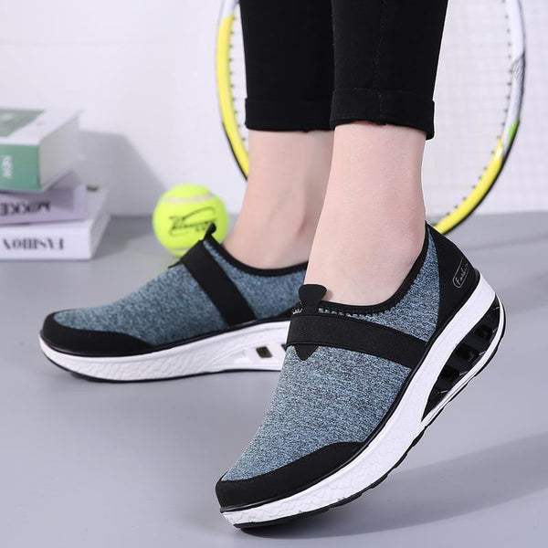 Women Casual Breathable Rocking Shoes