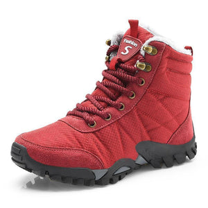 Women Water-resistant Anti-skid Snow Boots