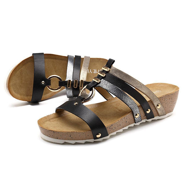 Women's Shoes Open-Toed Sandal Comfortable Wedge