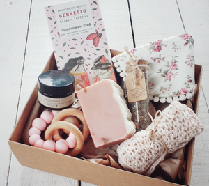 Vintage Baby Girl Gift Set Box