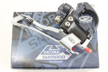 Shimano Deore LX Front Derailleur Bottom pull top swing 28.6 clamp New in Box