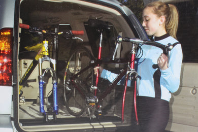 Slikfit Fastrak Bike Rack System for SUV or Truck Bed Black 42.5