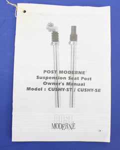 Post Moderne Cushy Suspension Seat post 27.0mm *NEW*