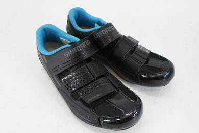 Shimano SH-RP2 Women's Fit Road Shoe Cycling Shoes Black Size 38 NOS
