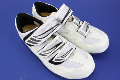 Shimano SH-WR35 Road Shoe Cycling Shoes White Size 41 NOS