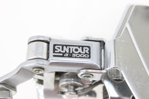 Suntour Alpha 3000 Front Derailleur Double - 31.8mm Clamp VINTAGE NOS