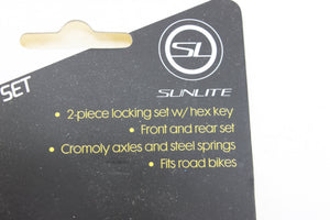 Sunlite Lightnin' Skewer Set: Locking Skewers NEW