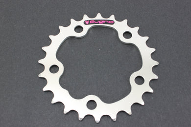 Sugino 74mm x 24t 5 Bolt Chainring NOS