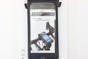 Lezyne Waterproof Bicycle Handlebar Mount Phone Case iPhone 5/5S/5C New