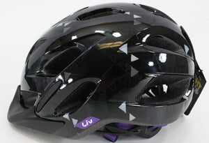 Giant Liv Cycling Unica Bike Helmet Black Youth OS Adult S/M (49/57cm)  NIB