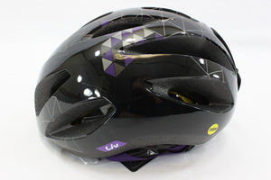 Giant Liv Cycling Lanza Bike Helmet Black/Purple Adult S (51-55cm)  NIB
