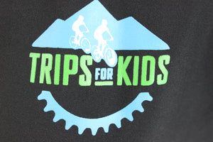 Trips for Kids Branded Club Ride Simply Bandara-Raven Button Down Shirt