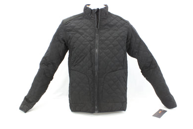 Sheila Moon Men's Quilted Cotton Cycling Jacket Black