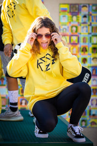 Limited Edition Kezz Unisex Hoodie (Yellow)
