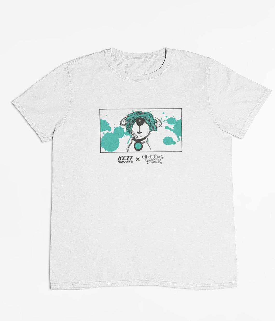 Limited Edition Splat Arthur Tee (Teal/White)