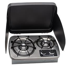 YSN Imports Stove Cooktop with 2 Burners - YSNHT600 - Young Farts RV Parts