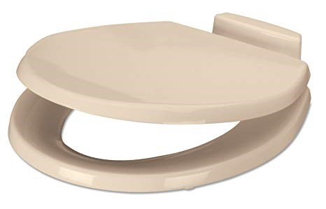 Dometic 385312074 - Dometic 310 Toilet Seat and Cover, Slow-Close, Bone - Young Farts RV Parts