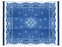 Camco 42851 Outdoor Mat  9' x 12'  - Oriental, Blue/White  Bilingual - Young Farts RV Parts