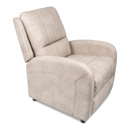 PUSH-BACK RECLINER DOESKIN