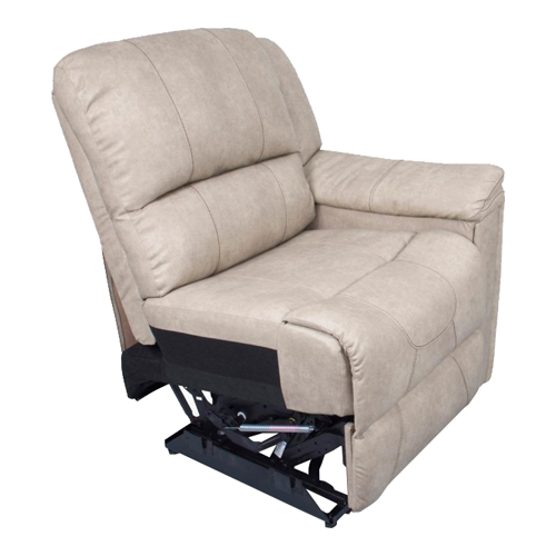 LEFT ARM RECLINER DOESKIN
