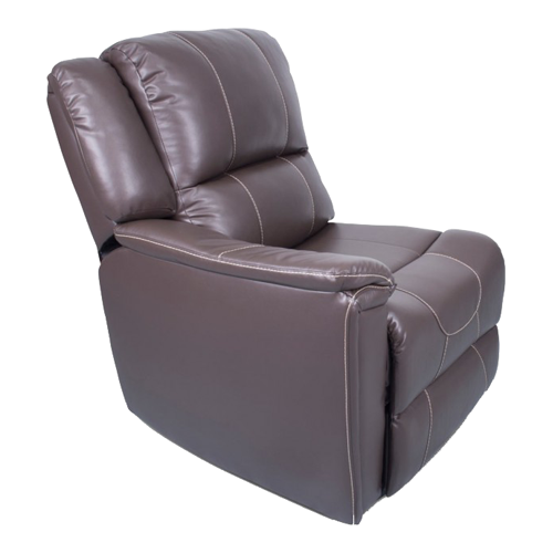 RIGHT ARM RECLINER MAJ CHOCO