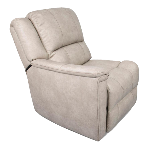RIGHT ARM RECLINER DOESKIN