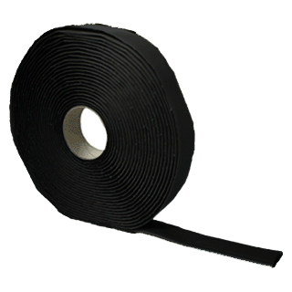 (20)BUTYL #404 1/8X3/4X30' BLACK