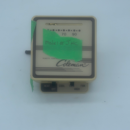 USED Coleman JHC AC Wall Thermostat - Young Farts RV Parts