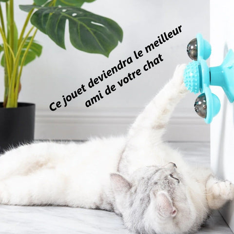 Jouet spinner chat 4 Jouet Spinner Chat: Véritable Anti-stress Pour Votre Chat