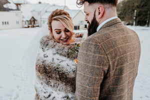 English Winter Country Wedding